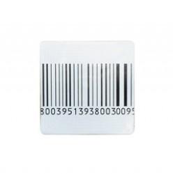 Этикетка для замороженных продуктов (с ложным штрих-кодом)